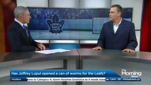 Has Joffrey Lupul opened a can of worms for the Leafs?
